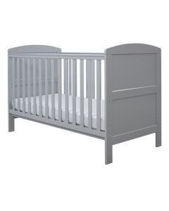 ickle bubba Coleby Cot Bed and Foam Mattress - Grey