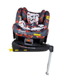 Cosatto All In All Rotate ISOFIX Car Seat - Charcoal Mister Fox