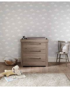 Mamas & Papas Franklin Dresser Changer - Grey Wash