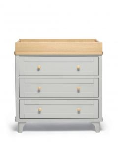 Mamas & Papas Trista Dresser/Changer - Grey/Oak