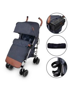 ickle bubba Discovery Prime Stroller Denim Blue