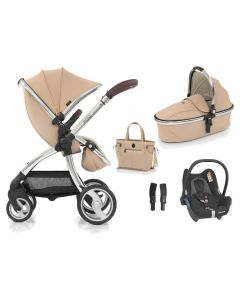 egg Special Edition Pushchair, Carrycot Honeycomb and Maxi Cosi CabrioFix Car Seat