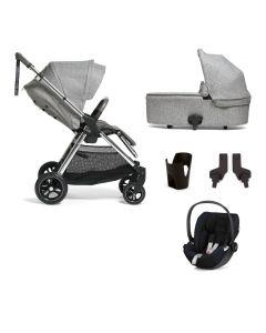 Mamas & Papas Flip XT3 Pushchair 5 Piece Cybex Cloud Z Bundle - Skyline Grey