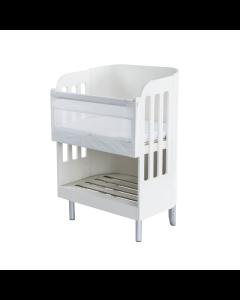 Gaia Baby Serena Co-Sleeping Crib  - White