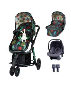 Cosatto Giggle 3 Hold Travel System Bundle Harewood