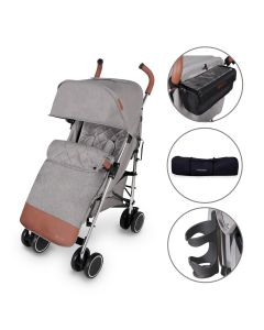 ickle bubba Discovery Prime Stroller Grey