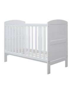 ickle bubba Coleby Mini Cot Bed White