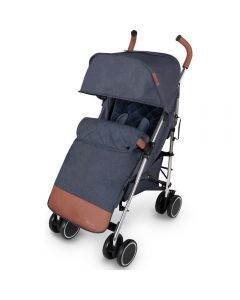 ickle bubba Discovery Max Stroller - Denim Blue