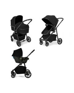ickle bubba Moon 3 in 1 Astral Travel System Black