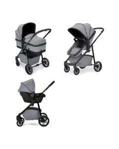 ickle bubba Moon 3 in 1 Astral Travel System Space Grey