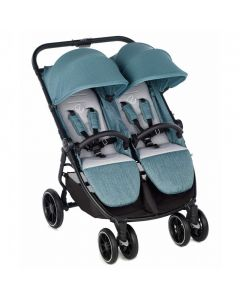 Jane Twinlink Double Pushchair - Mild Blue