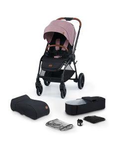 Kinderkraft Evolution Cocoon 2 in 1 Stroller Mauvelous Pink