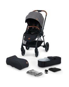 Kinderkraft Evolution Cocoon 2 in 1 Stroller Platinum Grey