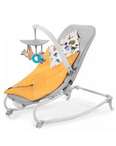 Kinderkraft Felio Baby Rocker - Forest Yellow (2020)
