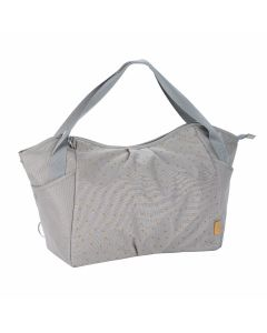 Lassig 4Family Casual Twin Bag - Triangle Light Grey