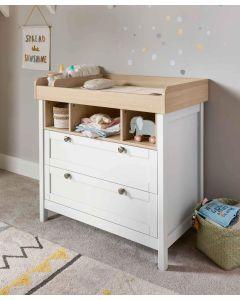 Mamas & Papas Harwell Dresser Changer - White/Oak