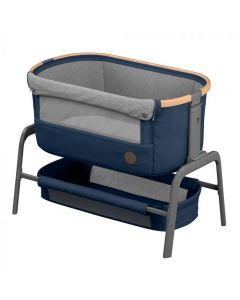 Maxi Cosi Iora Co-Sleeper - Essential Blue