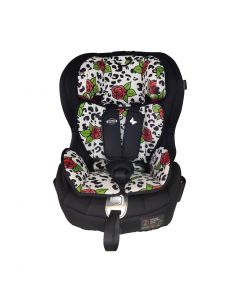 My Babiie Group 1/2/3 Isofix Car Seat - Katie Piper Rose Leopard