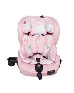 My Babiie Group 1/2/3 Isofix Car Seat - Pink Butterflies