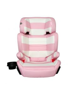 My Babiie Group 2/3 Car Seat - Pink Stripes