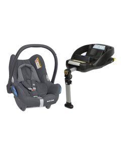Maxi Cosi CabrioFix Car Seat & Easyfix Base - Essential Graphite