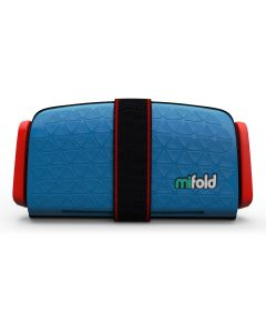 mifold the Grab and Go Booster Seat Denim Blue
