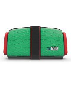 mifold the Grab and Go Booster Seat Lime Green
