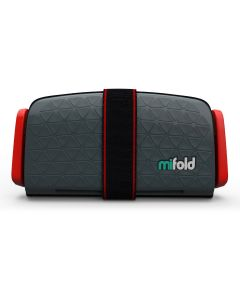 mifold the Grab and Go Booster Seat Slate Grey