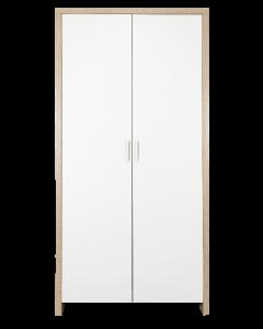 Tutti Bambini Modena Wardrobe - White/Oak