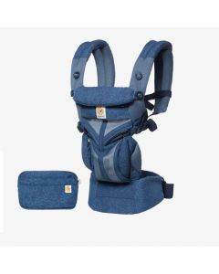 Ergobaby Omni 360 Cool Air Mesh Carrier - Blue Blooms
