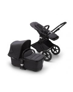 Bugaboo Fox2 Mineral Pushchair Complete - Black/Washed Black