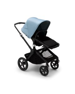 Bugaboo Fox2 Pushchair - Black/Vapor Blue