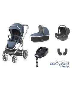 BabyStyle Oyster 3 Essential 5 Piece Cabriofix Bundle - Regatta