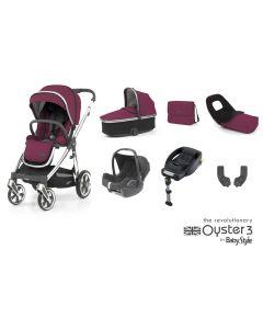BabyStyle Oyster 3 Luxury 7 Piece Cabriofix Bundle - Cherry