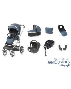 BabyStyle Oyster 3 Luxury 7 Piece Cabriofix Bundle - Regatta