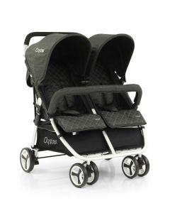 Babystyle Oyster Twin Stroller - Pepper