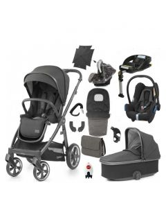 BabyStyle Oyster 3 Ultimate 12 Piece Cabriofix Bundle - Pepper