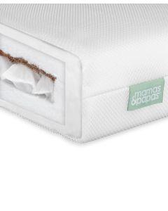Mamas & Papas Premium Dual Core Cot Bed Mattress (140 x 70cm)