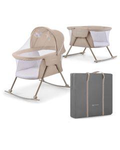 Kinderkraft Lovi 3 in 1 Baby Crib - Beige