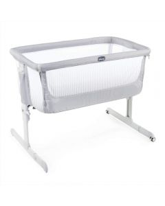 Chicco Next2Me Air Side Sleeping Crib - Stone