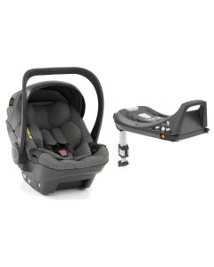 egg Shell I-SIZE Car Seat & Base - Anthracite