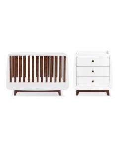 snuzpod cot bed 01 luxe espresso 2 pc furniture