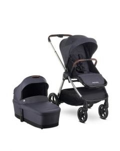 Easywalker Rudey Pushchair & Carrycot - Mineral Grey