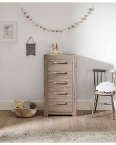 Mamas & Papas Franklin Tallboy Storage Unit - Grey Wash