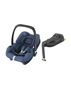 Maxi Cosi Tinca i-Size Car Seat & Tinca Base - Essential Blue
