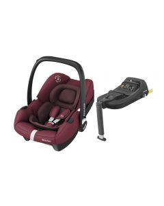 Maxi Cosi Tinca i-Size Car Seat & Tinca Base - Essential Red