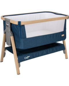 Tutti Bambini CoZee Bedside Crib Midnight Blue