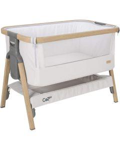 Tutti Bambini CoZee Bedside Crib Sterling Silver