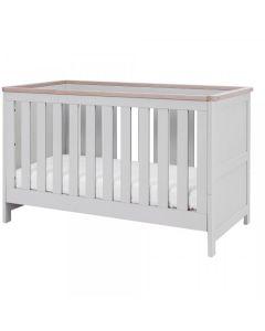 Tutti Bambini Verona Cot Bed - Dove Grey/Oak