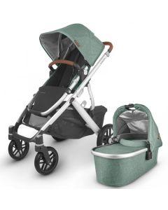 UPPAbaby VISTA V2 Pushchair and Carrycot - Emmett